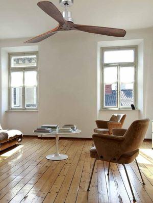 Ventilateur de plafond dans un salon