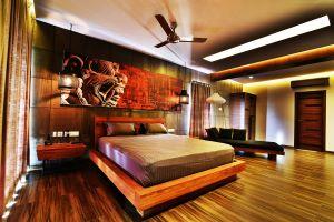Ventilateur de plafond pour chambre